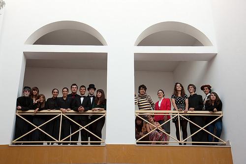 Teatro da Caverna de l' Escola Secundària Manuel Teixeira Gomes